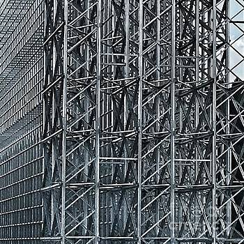 Shiny Steel Construction by Eva-Maria Di Bella