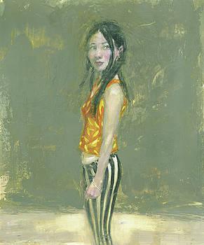 Shione in Stripes by Felipe Echevarria