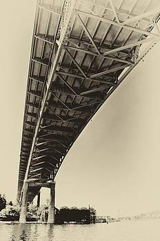 Pelo Blanco Photo - Ship Canal Bridge Old Yellow