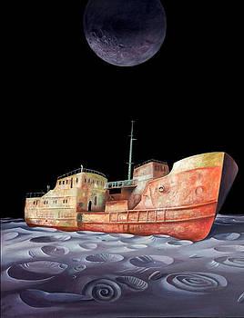 Ship by Valentin Rusin