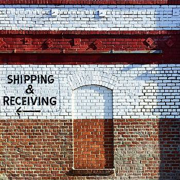 Shipping And Receiving  by Julie Gebhardt