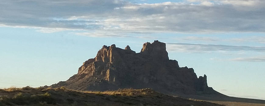 Shiprock New Mexico by Bret Sheppard