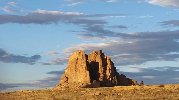 Shiprock Two New Mexico by Bret Sheppard