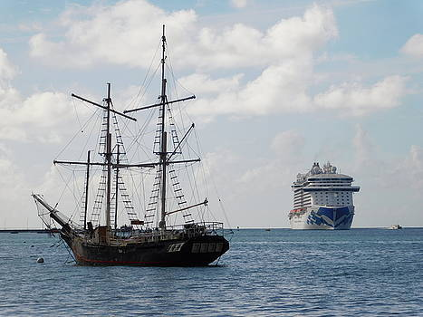 Ships by Otis L Stanley