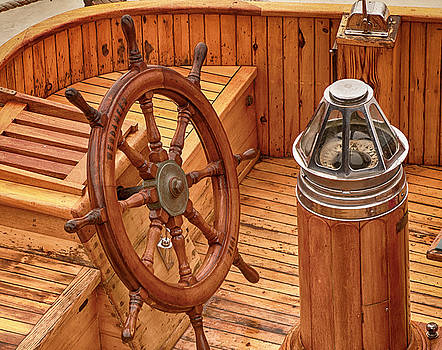 Wheel and Compass by Mick Burkey