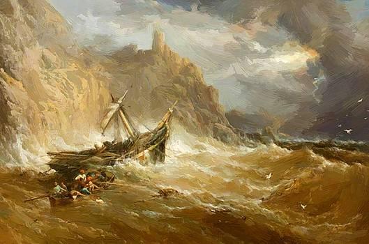 Webb James - Shipwreck 1865