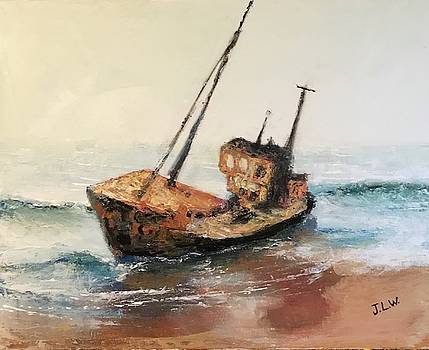 Shipwreck II by Justin Lee Williams
