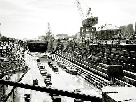 Shipyard by Raymond Earley