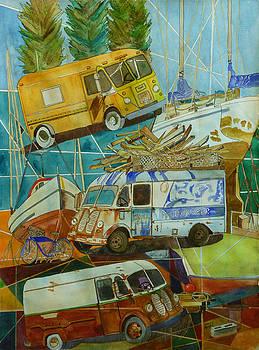 Shipyard Transport by Karen Merry
