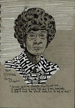 Shirley Chisholm by Frank Middleton