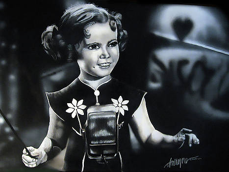 Shirley Temple by Dwayne Lester