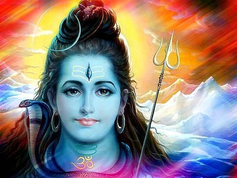 Shiva Himalayas by Khalil Art