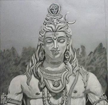 Shiva by Rajendra Parekh