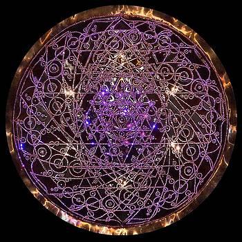 Shiva Shakti Coipper Lightmandala by Robert Thalmeier