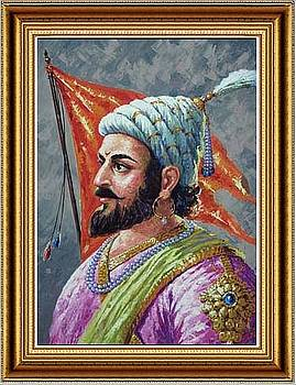 Shivaji Maharaj by Milind Shimpi