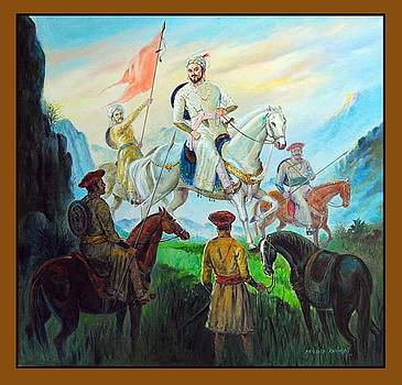 Shivajis Meeting by Milind Shimpi