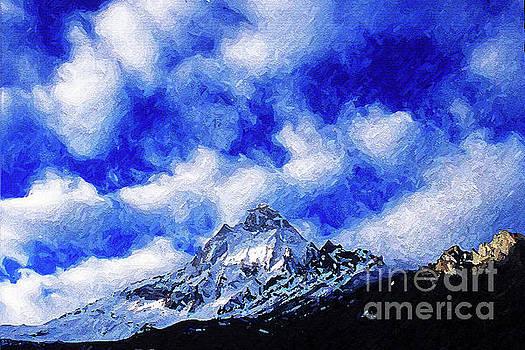 Shivling Peak 1 by Anil Sharma