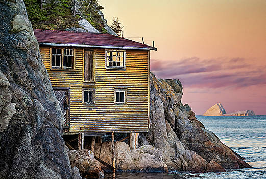 Shoe Cove Sunset by Tracy Munson