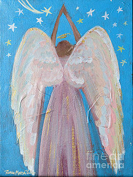 Shooting Star Angel by Robin Maria Pedrero