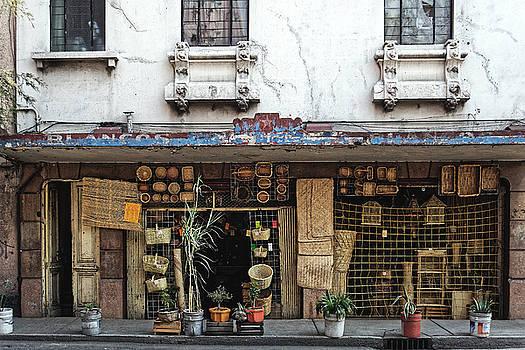 Chris Honeyman - Shop front, Mexico City 2016