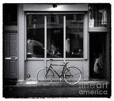 Shop Front with Bicycle by Lynn Bolt