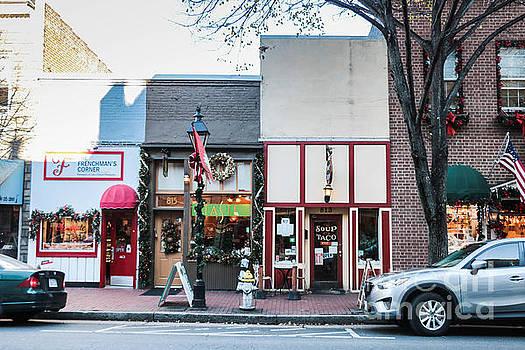 Shop Fronts of Fredricksburg Virginia by Thomas Marchessault