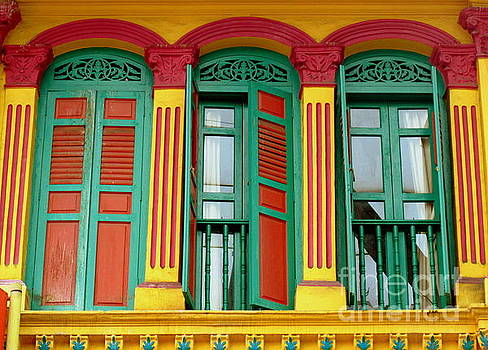 Shophouse Windows by Ranjini Kandasamy