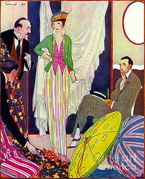 Shopping 1914 by Padre Art