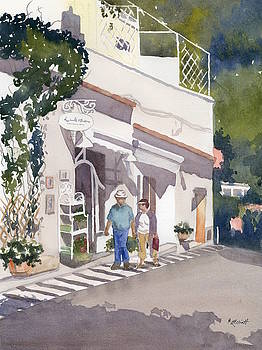 Shopping Along the Amalfi Coast by Marsha Elliott