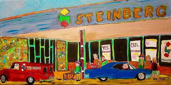 Shopping at Steinberg by Michael Litvack