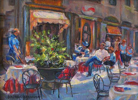 Shopping in Cortona by Brenda Brannon