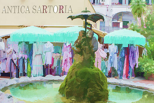 Lisa Lemmons-Powers - Shopping in Positano