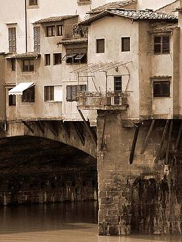 Donna Corless - Shops on the Ponte Vecchio