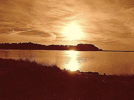 Shore Sunset by Karen Fowler