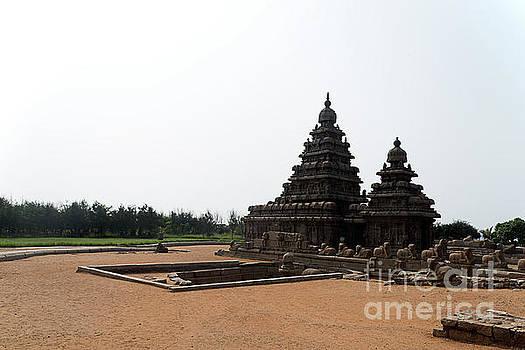 Shore temple at Mahabalipuram by Kiran Joshi