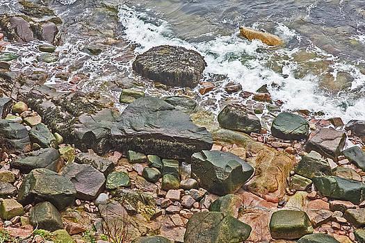 Shoreline Acadia National Park, Wet Rock, Waves, 2 682017 acadia 7045.jpg by David Frederick