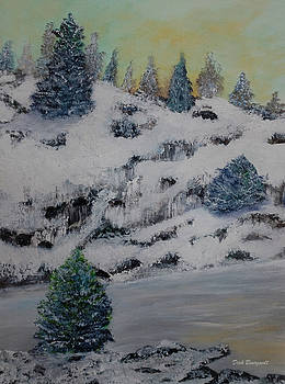 Shoreline Winter by Dick Bourgault