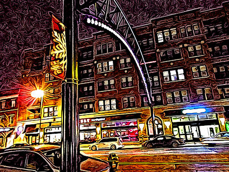 Short North at Night by Joe Ditzel