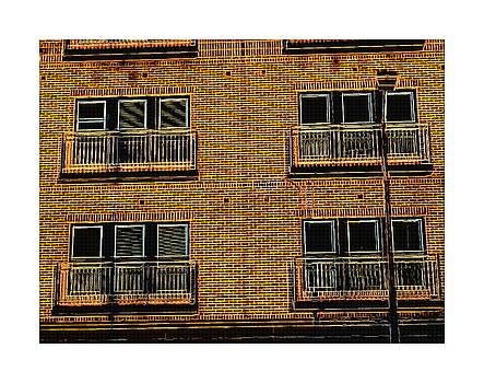 Short North Bricks and Lightpost by Joe Ditzel