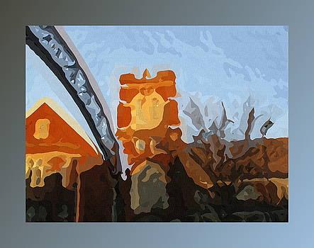 Short North Church at Dusk by Joe Ditzel