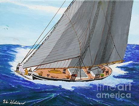 Shortning Sail to Cross the Bar by Bill Hubbard