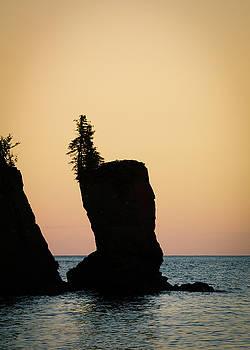 Shovel Point on Lake Superior by Heidi Hermes