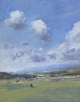 Shower Clouds over the Yar Valley by Alan Daysh
