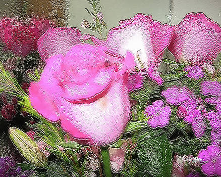 Shower Flowers #066 by Barbara Tristan