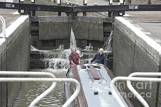 Shower in the Lock by Andy Thompson