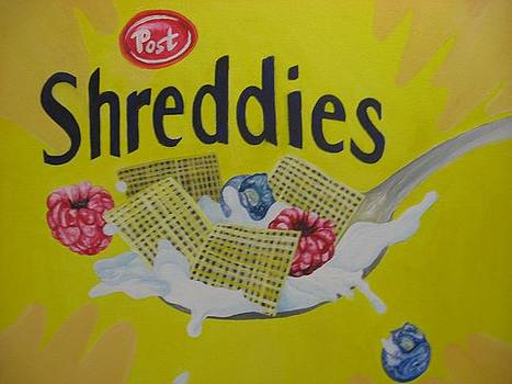 Shreddies by Theodora Dimitrijevic