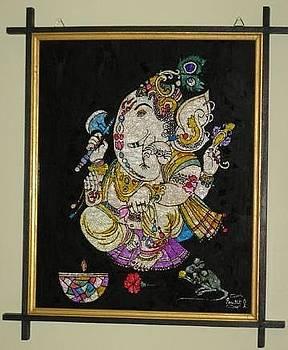 Shri Ganesha by Pratik Kharecha