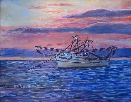 Shrimp Boat by Bill Roberts