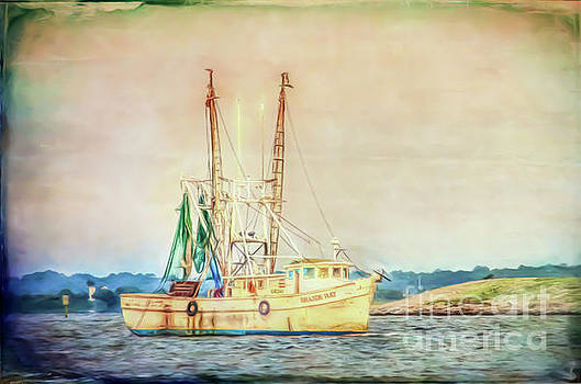 Shrimp Boat - The Brande Ray by Kerri Farley