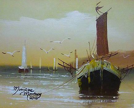 Shrimp Boats by Monique Montney